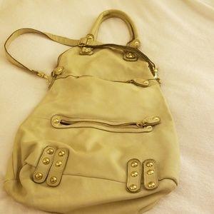 Designer leather tote vintage